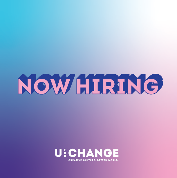 Pink and Blue, now hiring, job application, photography, artist mentor, uforchange, youth arts